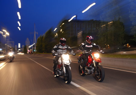 Управление мотоциклом