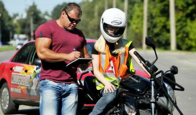 Как получить права на мотоцикл, если есть категория B