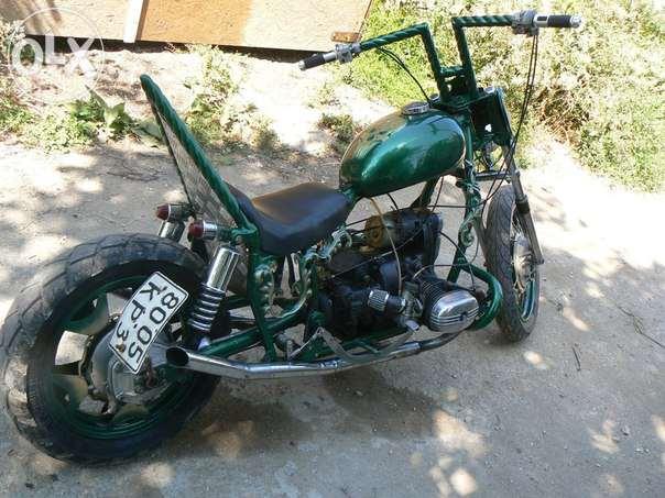 Как установить стартер на мотоцикл Урал