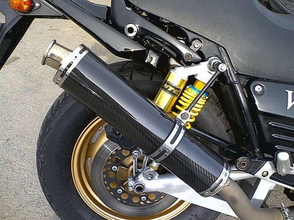 Прямоток на мотоцикл