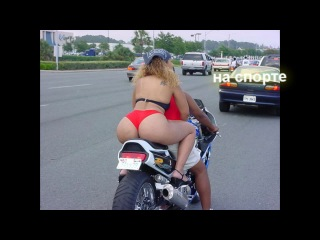 Как проехать лежачего полицейского на мотоцикле