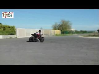 Как надо уметь ездить на мотоцикле!!!