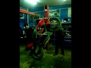 Как поймать точку баланса на мотоцикле в статике