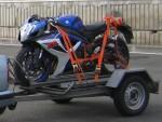 Как правильно перевезти мотоцикл