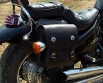 Кофры для мотоцикла  позволят перевезти багаж и защитят от грязи