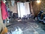 Как развернуть мотоцикл в гараже без особых усилий