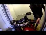 Как я спускал мотоцикл с 15 этажа