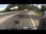 Как девушек на мотоцикле катал