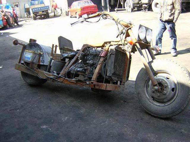 Самодельные мотоциклы фото