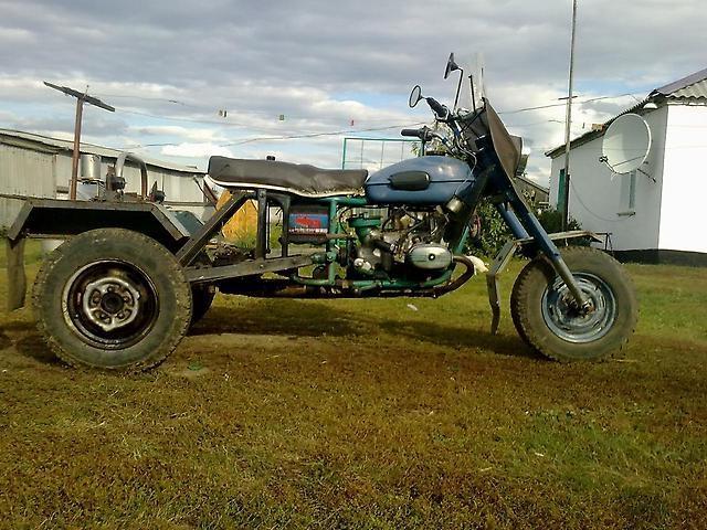 Самодельный мотоцикл Урал