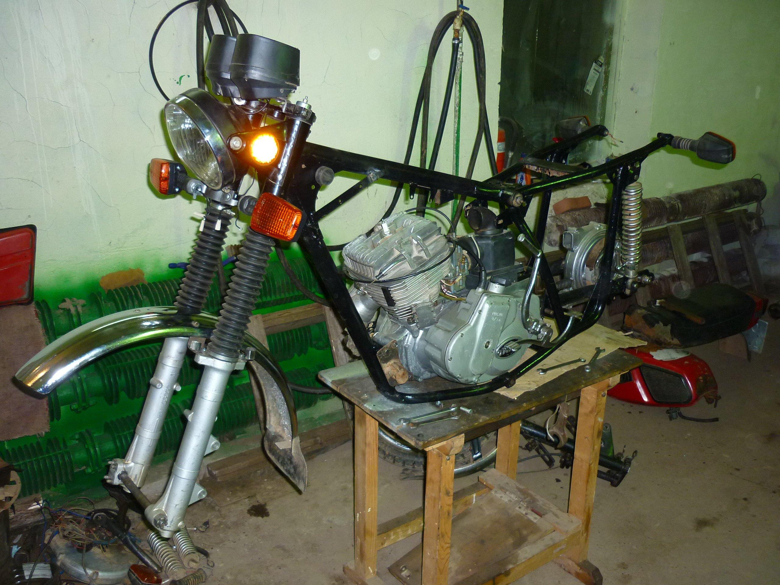 Ремонт мотоциклов своими руками