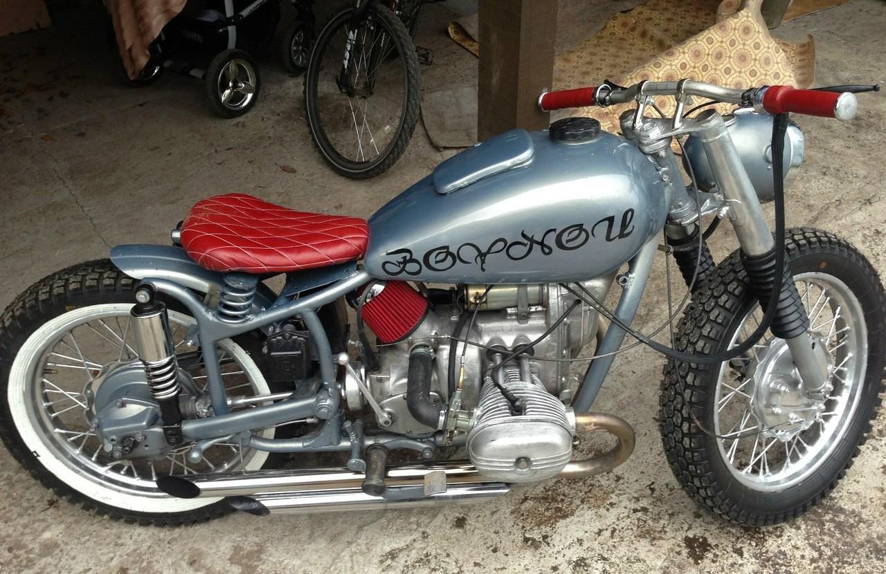 Тюнинг мотоцикла Урал на фото 3