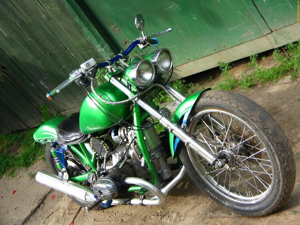 Тюнинг мотоцикла Урал на фото 4