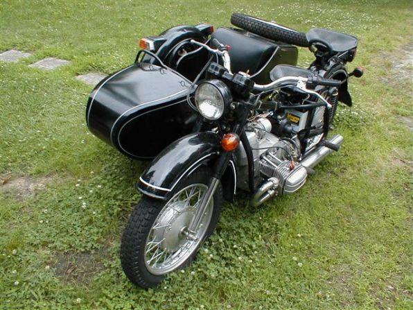 Еще один российский мотоцикл