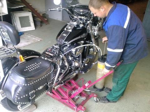 Самостоятельный ремонт мотоциклов