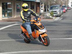 Модные аксессуары для скутера
