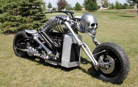 Самые необычные мотоциклы