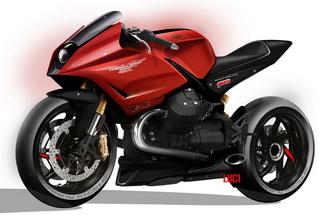 Концепт Moto Guzzi MGS02 Corsa