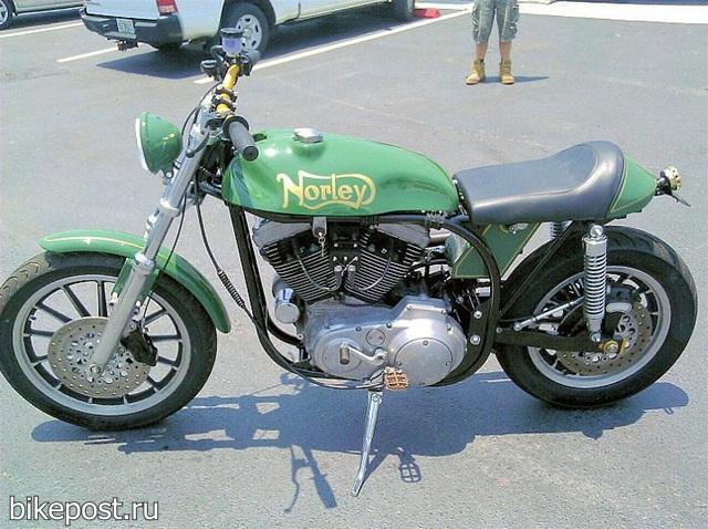 Norley – модернизированный дирт-трекер Harley-Davidson Sportster