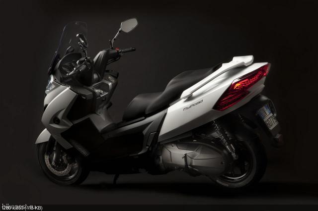 Новый скутер от Kymco MyRoad 700