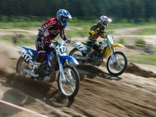 Техника подвела мотогонщика из Череповца на чемпионате Иваново