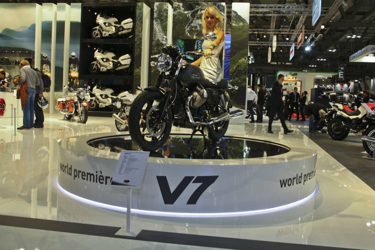 EICMA-2011: Moto Guzzi показывает новинки