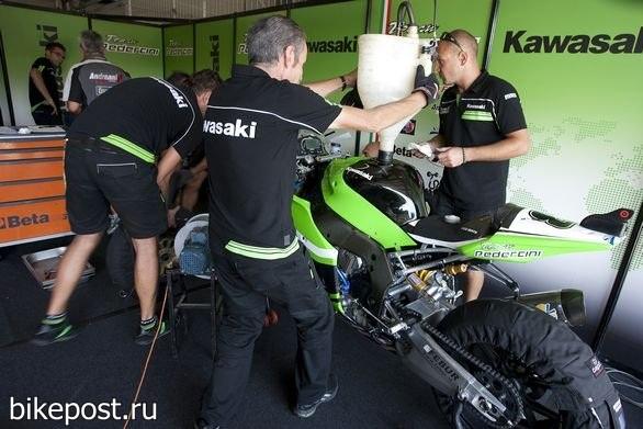 Pedercini Kawasaki закончила тестирование в Валенсии