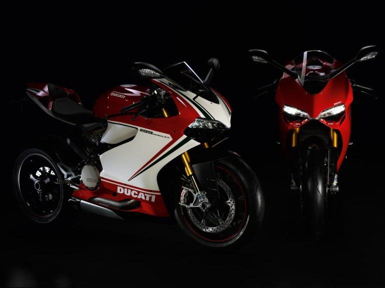 Концепт-байк Ducati 1199 Panigale