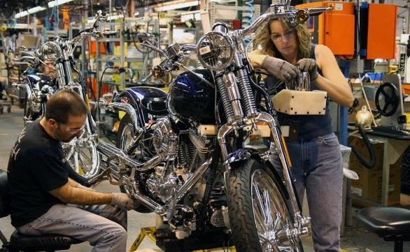 Закрылся ещё один завод Harley-Davidson