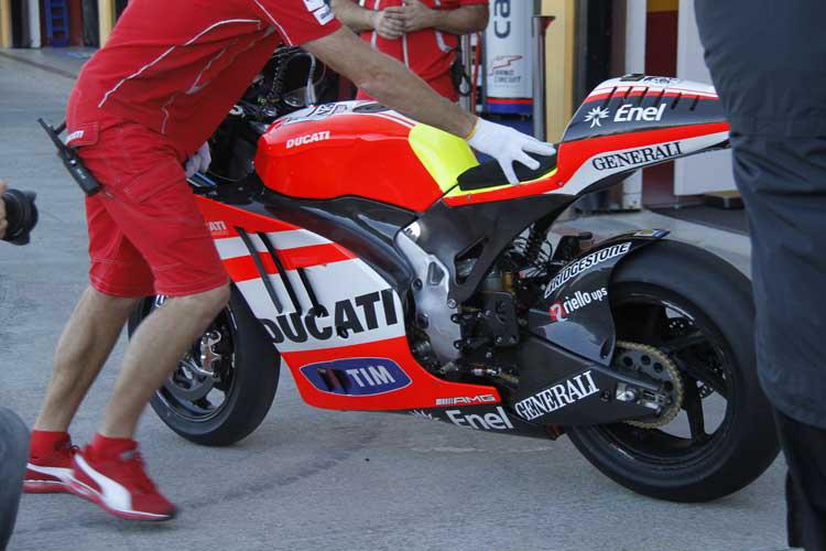 Новая информация о завершившихся тестах Ducati