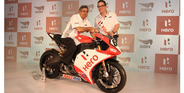 Началось сотрудничество между Erik Buell Racing и Hero MotoCorp