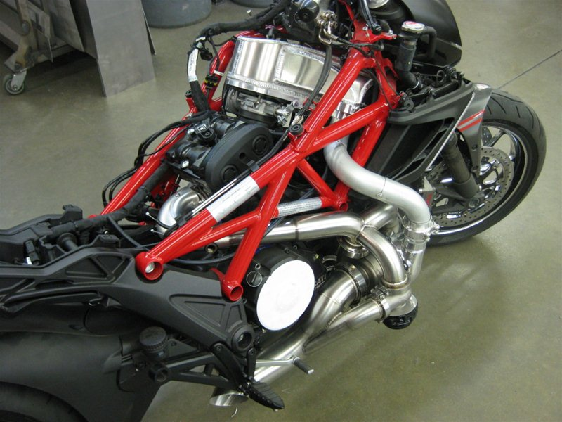 Turbo-версия мотоцикла Ducati Diavel