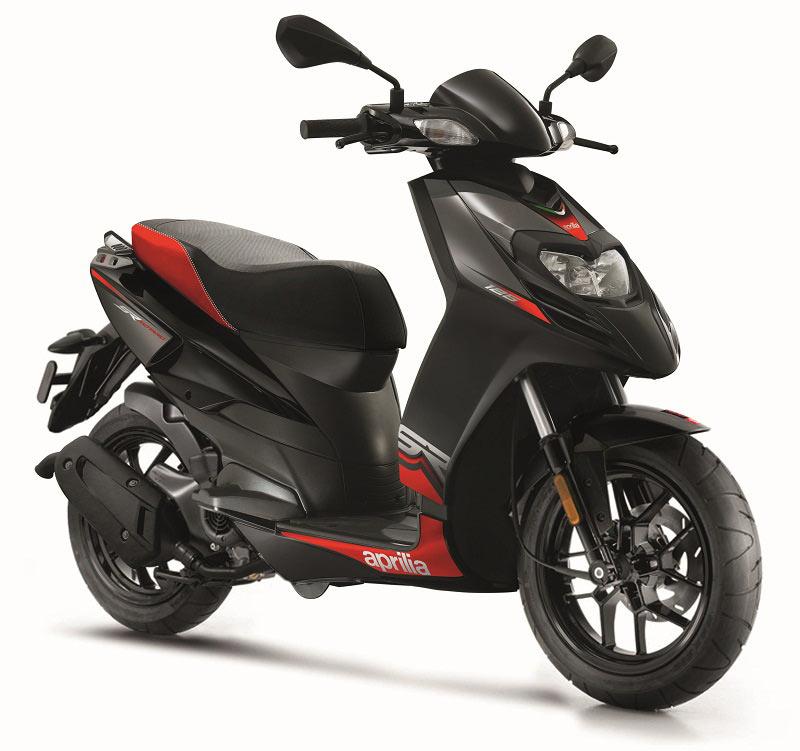 Aprilia выпустила новые скутеры