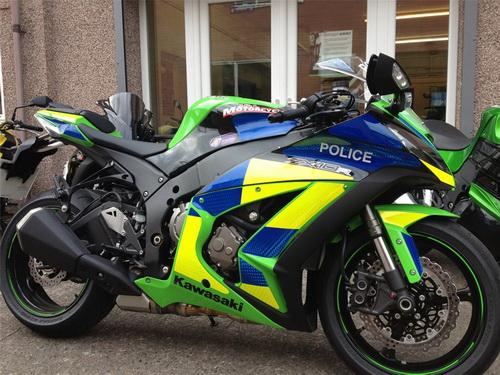 Новый Kawasaki для британских полисменов