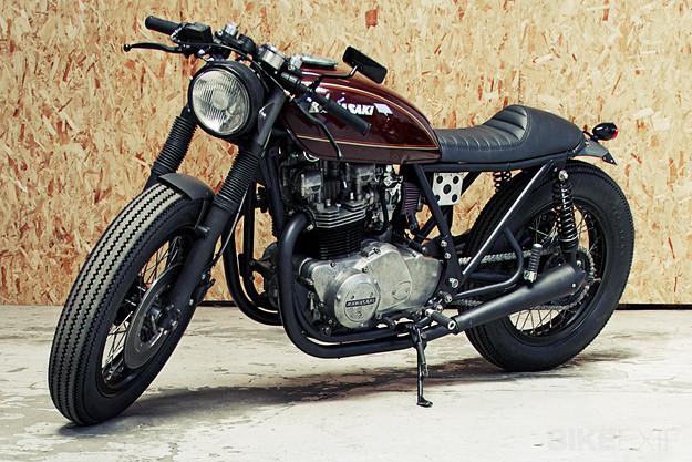 Kawasaki Z750 от Wrenchmonkeys