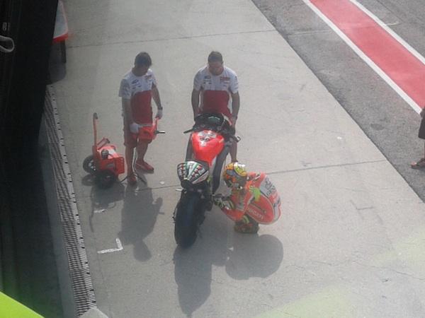 Ducati провела тесты в Мизано