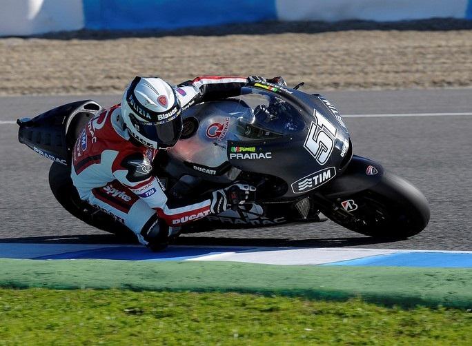 В сезоне 2013 года у компании Ducati отличные испытатели.