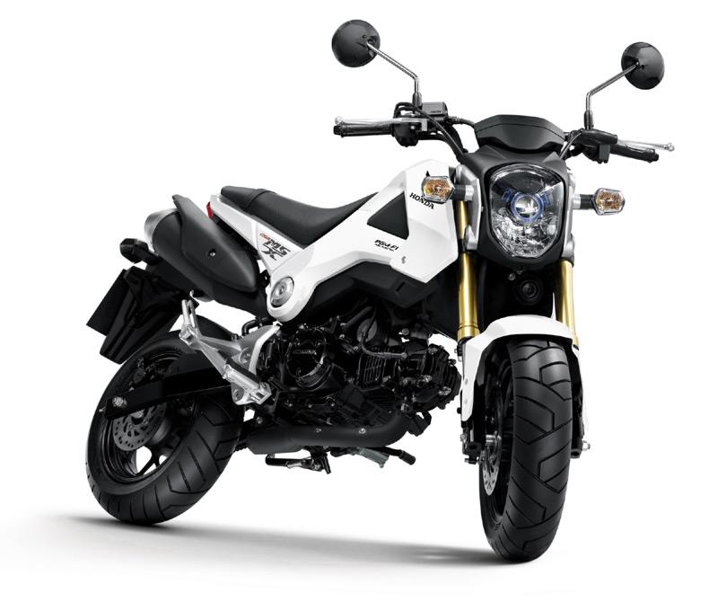 В конце весны в Европе появится новый минимотоцикл от Honda Motor