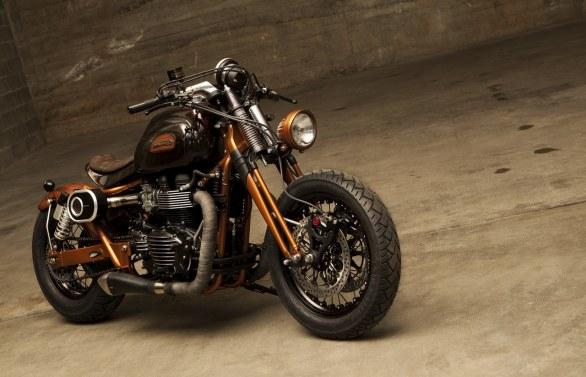 Мотоцикл Triumph Bonneville, побывав у братьев Поццато, раскрыл свою сущность, получив имя Essentia.