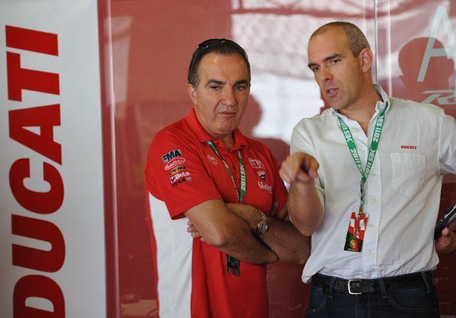 Эрнесто Маринелли верит в успех Ducati.
