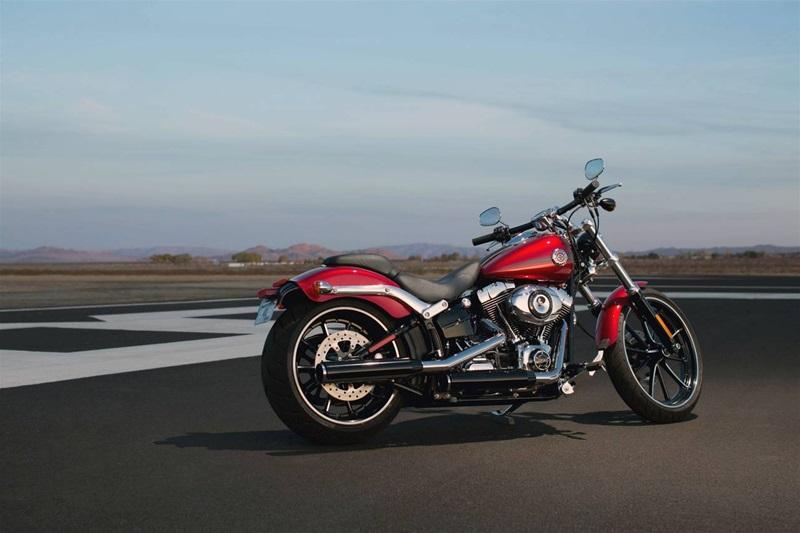 Американская компания Harley-Davidson представила новый байк.