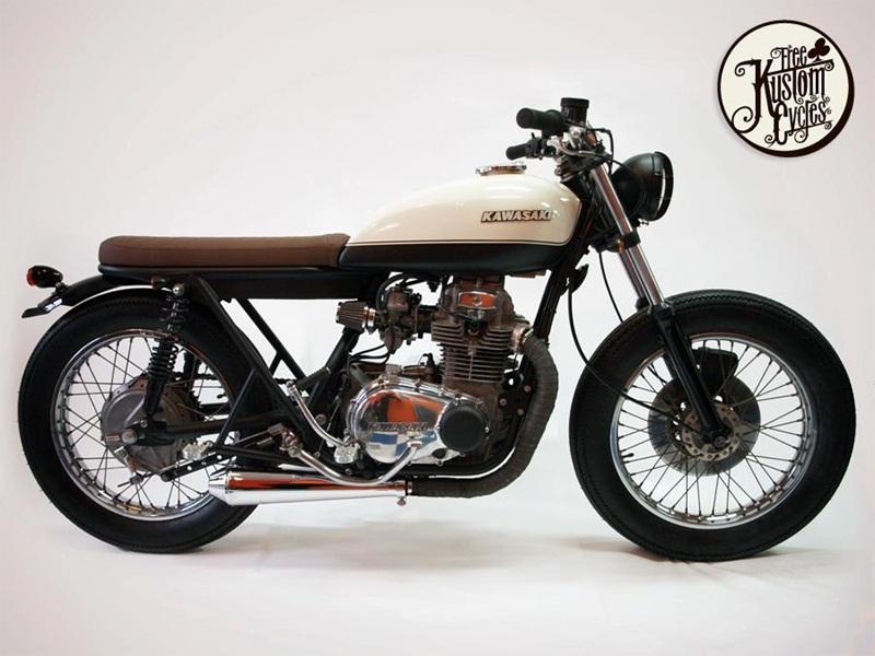 Еще одни продукт Free Kustom Cycles, переделка Kawasaki KZ400