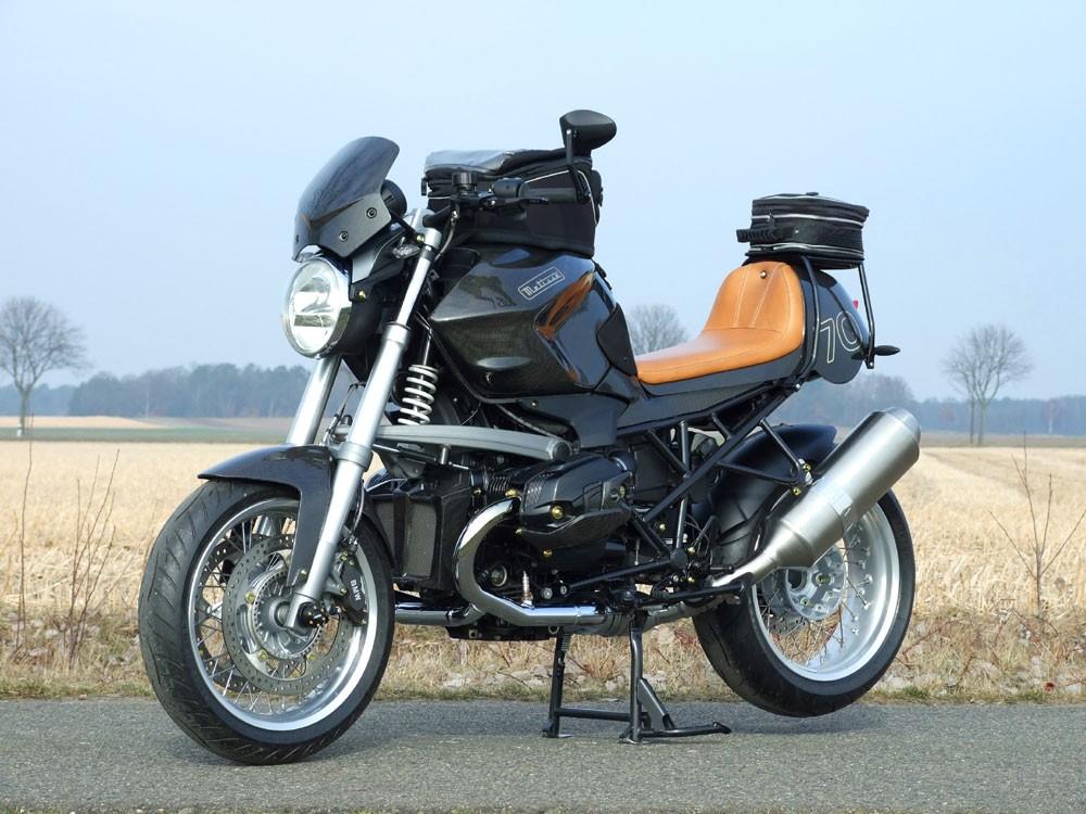 Новая переработка мотоцикла BMW от компании Metisse.