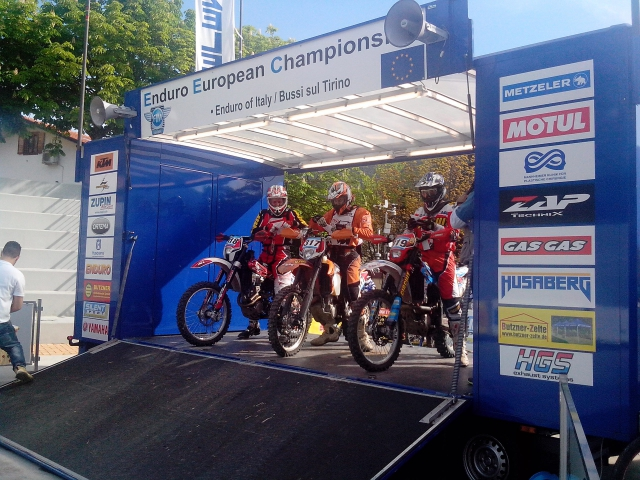 Итоги этапа чемпионата Европы по эндуро и наши гонщики.