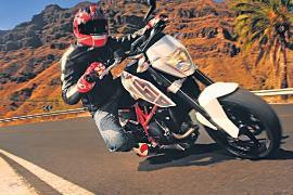 Обновленная версия мотоцикла KTM 690 Duke