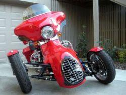 Harley-Davidson представляет трехколесный байк
