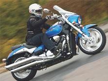 Suzuki intruder M1500: «M» означает «muscle»