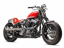 Redhot на базе Harley-Davidson от Роберто Росси