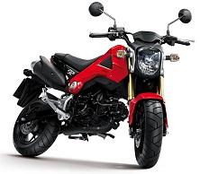Новый минимотоцикл Honda MSX125 2013