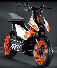 KTM представляет первый электроскутер